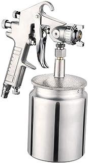 ZHITING Succión Alimentación Aire Pistola De Spray de pintura inoxidable de 3.0 mm boquilla 1000 ml Capacidad aerógrafo pintura herramienta para coche muebles pintura mano pintura pulverizador