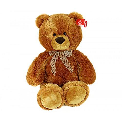 Aurora Teddy Bär Teddybär gold braun Plüschtier Plüsch Stofftier 70 cm XXL Bär Riesenbär Kuscheltier