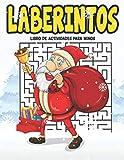 Laberintos: Laberintos el gran libro de navidad para niños Busca y encuentra 99 laberintos