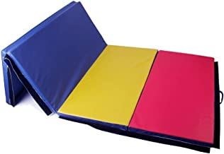 Polar Aurora 4'x10'x2 Thick Folding Gymnastics Exercise Mat Aerobics Stretching Yoga Mats