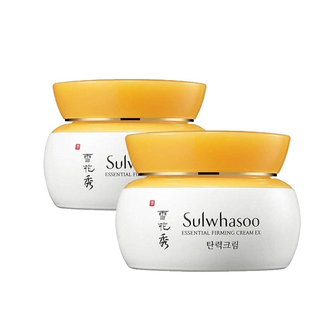 レモン注文路地雪花秀エッセンシャルパーミングクリーム 75mlx2本セット 弾力クリーム韓国コスメ、Sulwhasoo Essential Firming Cream 75ml x 2ea Set Korean Cosmetics [並行輸入品]