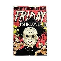木製パズル Friday I'M In Love 1000 ピース ジグソーパズル 遊び 雰囲気 減圧 おもちゃ 漫画 壁飾り 学生 子供 大人 絵画 贈り物