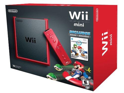 Scopri offerta per Wii Mini - Console, Black/Red con Mario Kart Wii [Bundle]