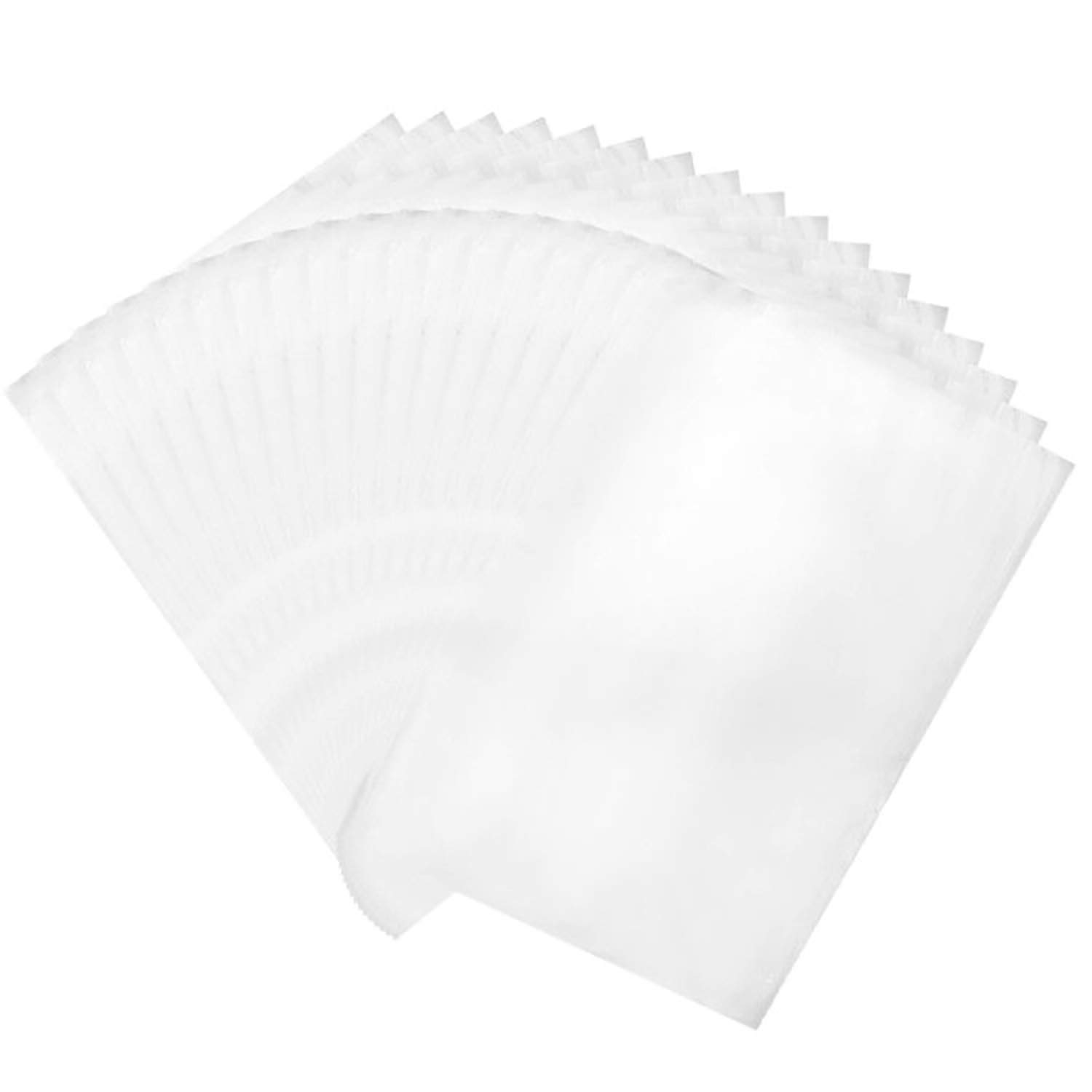 4x6 Inch and 5.5x8 Inch Shrink Wrap Bags, Clear PVC Heat Shrink