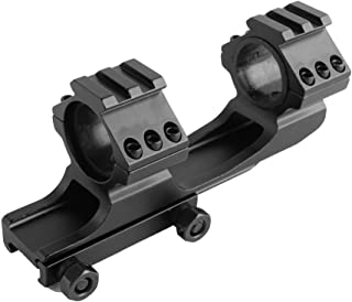 beileshi 1 (25.4mm) Offset Scope Rings One Piece Front and Rear Tactical Cqb Battle Mount