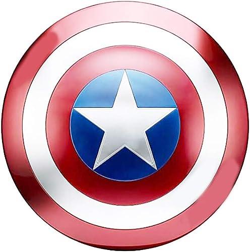 precio razonable B&T Captain Captain Captain America Shield Full Metal Handheld Movie Edition Bar Creativo Decoración de Parojo Suave Colgante Aluminio América Accesorios para Hombre Cosplay Escudo 1  1  mejor precio