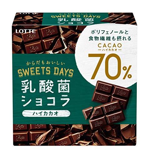ロッテ 『乳酸菌ショコラ カカオ70』