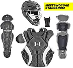Under Armour PTH Victory Series Catching Kit, Meets NOCSAE, Ages 12-16, Black