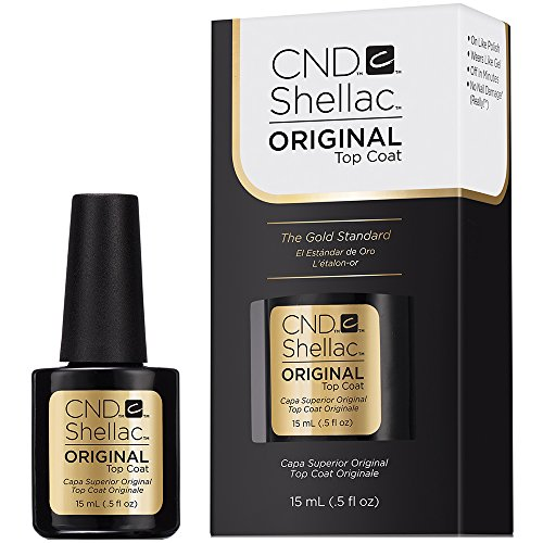 CND Shellac Top Coat Original, 15 ml