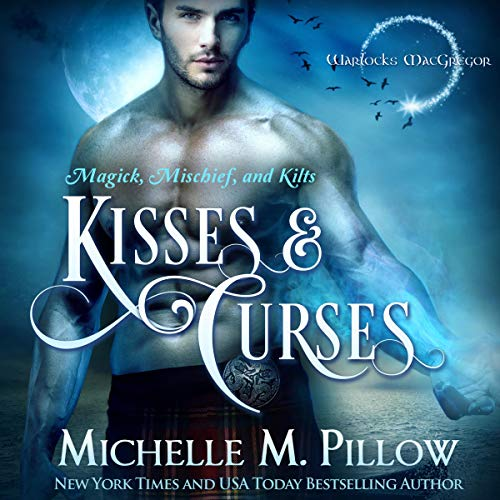 Kisses and Curses  audiobook cover art