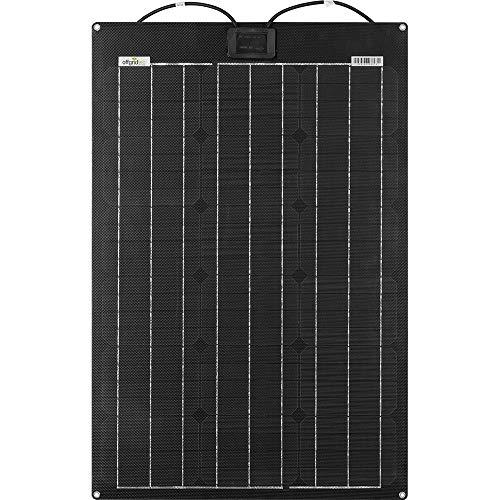 Offgridtec PCB-ETFE Semiflexibles Solarmodul 36V 50W Marine Wohnmobil Solarpanel