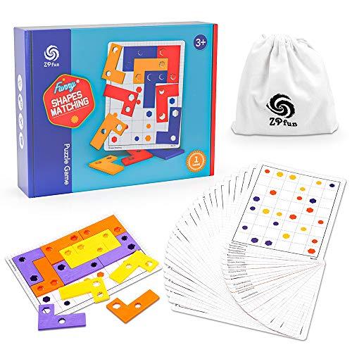 Juego de rompecabezas para niños de 4 a 5 6 7 años, regalo de cumpleaños para niñas de 3 a 6 años, juego de mesa de cartas niño pequeño para niños de 4 a 8 años, juguete de actividades educativas STEM