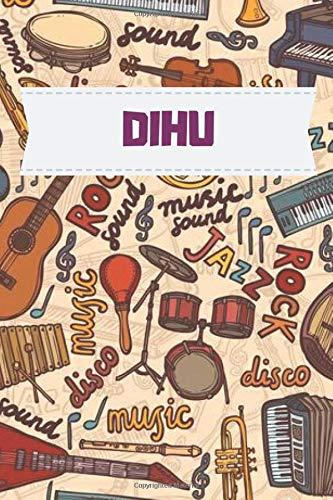 Dihu Music notebook : Practice & Progress Lesson Notebook