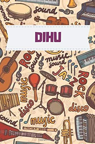 Dihu Music notebook : Practice & Progress Lesson Notebook