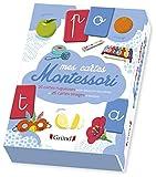 Mes cartes Montessori – Coffret d'éveil avec 26 cartes rugueuses de l'alphabet – À partir de 3 ans
