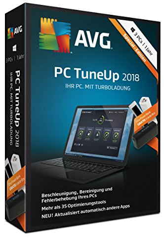 AVG PC TuneUp (2018) Special-Edition inklusive Power Bank|Special-Edition|1 PC / 1 Jahr|1 Jahr|PC|Download|Download