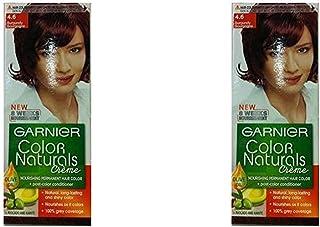 Garnier Color Naturals Crème Twin Pack, 4.6 Burgundy, 110 ml