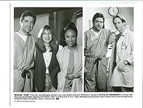 MOVIE PHOTO: STATE OF EMERGENCY-1994-8X10 PROMO STILL-JOE MANTEGNA-LANCE GENTILE-THRILLER