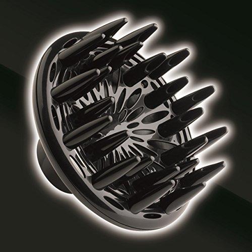 Imetec Salon Expert P4 2500 ION Asciugacapelli Professionale, Potenza 2000 W, Tecnologia a Ioni, Rivestimento in Ceramica e Tormalina, 8 Combinazioni Aria/Temperatura, Beccuccio Stretto