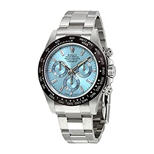 Fashion Shopping Rolex Oyster Perpetual Cosmograph Daytona Ice Blue Dial Automatic Mens Chronograph