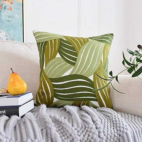 Tuinbank Hug Pillowcase plant borduursel Hug Pillowcase kantoor zonder core 2-delige set 45x45cm