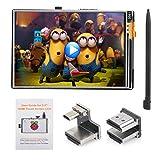 OSOYOO Touchscreen LCD-Monitor HDMI Display 3,5' Zoll TFT-Audioausgang mit Stylus und Anleitung für Raspberry Pi 4 3 Modell B+