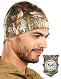Realtree EDGE Camo Skull Cap/Helmet Liner/Thermal Running Beanie Hat