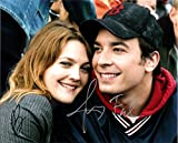 JIMMY FALLON & DREW BARRYMORE - Reprint 8x10 inch Photograph - FEVER PITCH movie Tonight Show