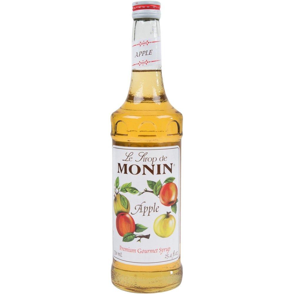 Monin Apple Syrup, 750 ml