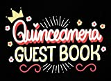 Quinceanera guest book: Alternative Quince Party Keepsake Memory Book with Space for message