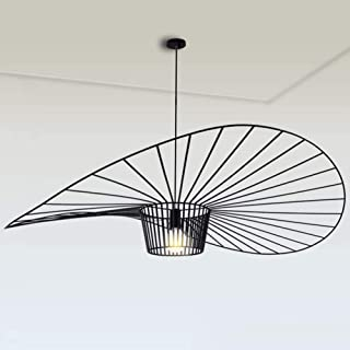 YUXN Suspension Vintage Salon Suspension Lampe Lustre Simple Creative (Hauteur De La Lumière Réglable), Conception De Chap...