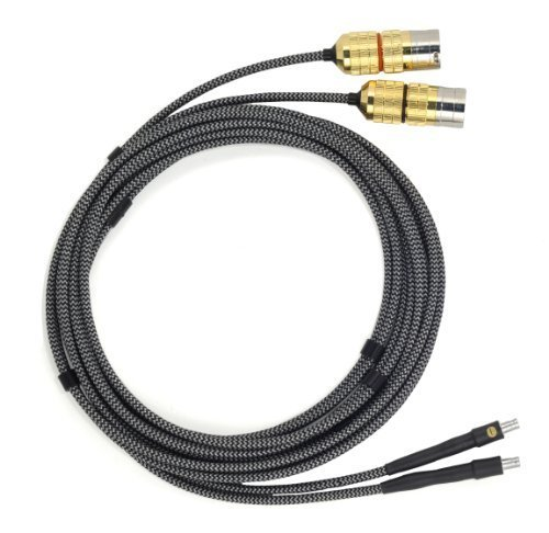 CARDAS AUDIO CLEAR Audiophile Upgrade Balanced Headphone Cable for SENNHEISER HD800, HD 800 S, HD820 with GOLD Male 3-Pin XLR Plugs, 9ft (2.75m) cord