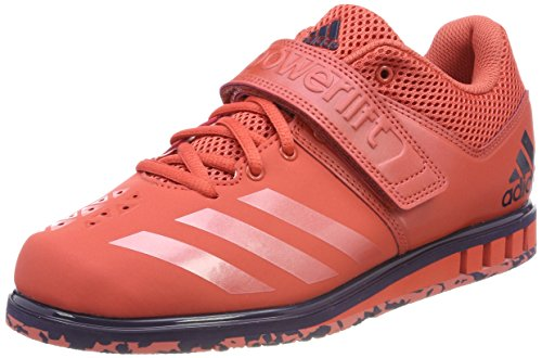 ADIDAS PERFORMANCE Powerlift 3.1 Chaussure d'haltérophilie Homme, Rouge (Trace Scarlet S18/Trace Scarlet S18/Noble Ink F17 Trace Scarlet S18/Trace Scarlet S18/Noble Ink F17), 39 1/3 EU