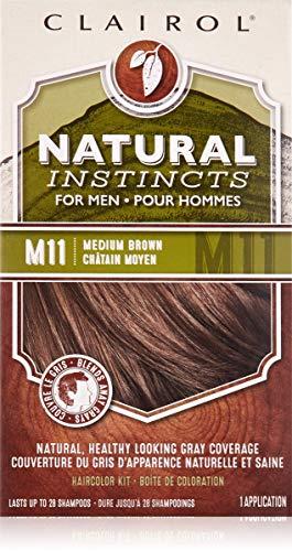 NATURAL INST MEN #M11 MD BROWN KIT