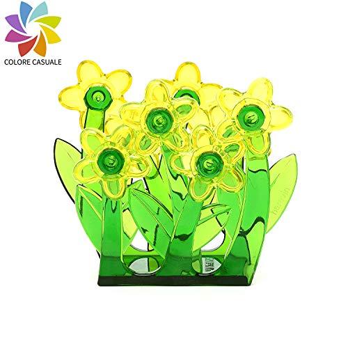 takestop® tafelkleed houder bloem madeliefje bloem daisy 8.5x5cm plastic tafelkleed tafel abbella keuken huis