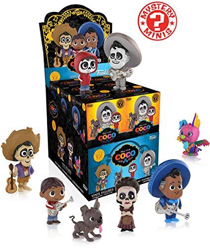 Funko - Figurine Disney Mystery Minis Coco - 1 Boîte Au Hasard / One Random Box - 0889698228831