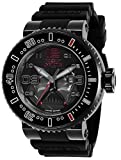 Invicta Men's Star Wars Stainless Steel Quartz Watch with Silicone Strap, Black, 29.8 (Model: 27667)