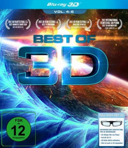 Best of 3D - Das Original - Vol. 4-6 [3D Blu-ray]