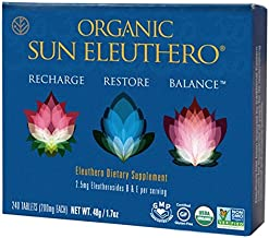 Sun Chlorella Sun Eleuthero Tablets 200 mg Pack of 240 Tablets Estimated Price : £ 21,64