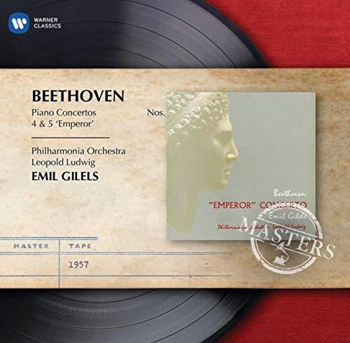 Beethoven: Pno Concertos Nos.4 & 5 [CD]