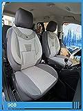 Maß Sitzbezüge kompatibel mit Mercedes C-Klasse W205/S205 Fahrer & Beifahrer ab FB:908