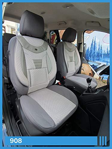 VW TIGUAN II 2015-maßgefertigt Misura Coprisedili Coprisedile velluto