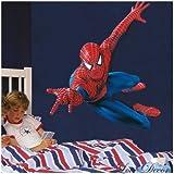 Énorme Grand Spiderman Stickers muraux enfants garçons Chambre Decal art Mural...