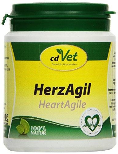 cdVet Naturprodukte HerzAgil 70 g - Hund, Katze, Heimtiere - Ergänzungsfuttermittel - Unterstützung der Herzfunktion - allgemeine Vitalitätsförderung - Unterstützung des Herz-Kreislaufsystems -