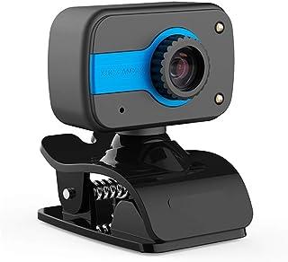 MiMoo 1PCS HD Webcam, USB Web Camera for PC Laptop Desktop with Microphone Computer Webcams, CMOS Digital Video Camera 360...