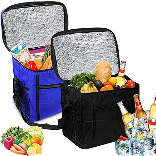 Nevera portátil plegable, 10 L, bolsa isotérmica, bolsa isotérmica, bolsa isotérmica, bolsa isotérmica pequeña, para pícnic