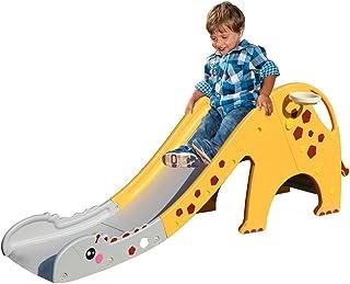 Kids Slide 160cm Extra Long Basketball Hoop Activity Center Toddlers Play Set