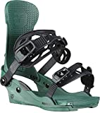 Union Force Snowboard Bindings Mens Sz L (10.5+) Forest Green