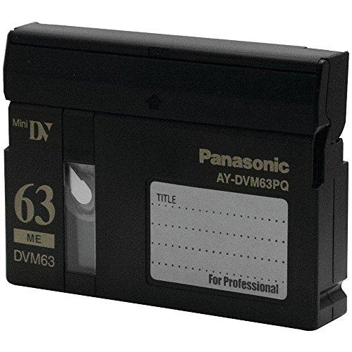 Cheapest Price! Panasonic AY DVM63MQ - Master - Mini DV tape - 10 x 63min [Electronics]