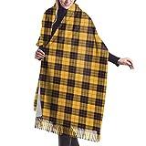 Photo de JJsister Foulards,Echarpes,Pashmina Femme Châle Wrap, Winter Warm Wrap Shawl Macleod Of Lewis Ramsay Plaid Print Scarves Blanket Scarf For Women Men